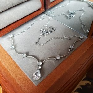 Jewelry - Tear Drop Gemstone Necklace